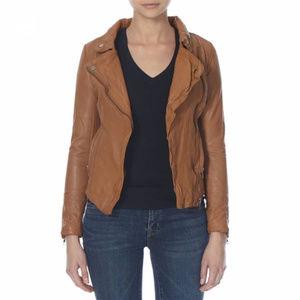 NWT Muubaa Monteria Biker Leather Jacket US size 6
